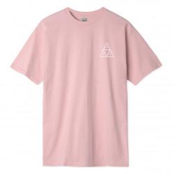 HUF, T-shirt essentials tt ss, Coral pink