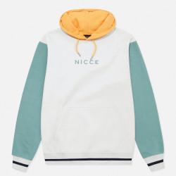 NICCE, Perth hood, White/trellis blue/apricot
