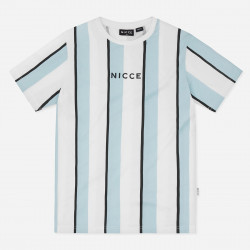 NICCE, Stripe t-shirt, Sterling blue/white