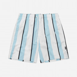 NICCE, Stripe swim shorts, White/sterling blue