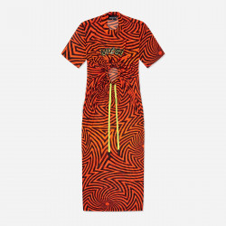 NICCE, Sierra dress, Shocking orange/black