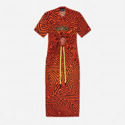 NICCE, Sierra dress, Shocking orange/black