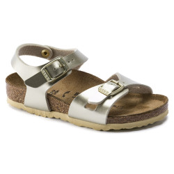 BIRKENSTOCK, Rio bf, Electric metallic gold
