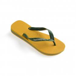 HAVAIANAS, Brasil logo, Banana yellow
