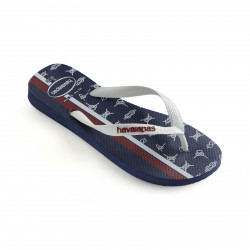HAVAIANAS, Top nautical, Navy blue/white/apache red