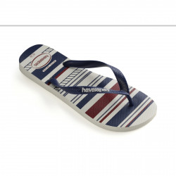 HAVAIANAS, Top nautical, White/navy/white
