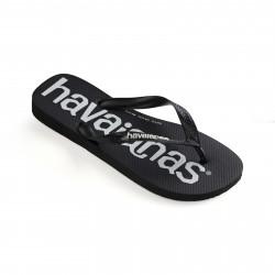 HAVAIANAS, Top logomania, Black