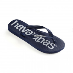 HAVAIANAS, Top logomania, Navy blue