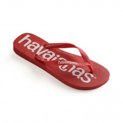 HAVAIANAS, Top logomania, Ruby red