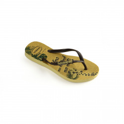 HAVAIANAS, Kids slim glitter, Lemon yellow