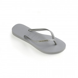 HAVAIANAS, Kids slim shiny, Ice grey