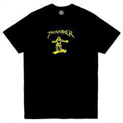 THRASHER, T-shirt gonz ss, Black