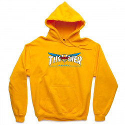 THRASHER, Sweat venture collab hood, Gold