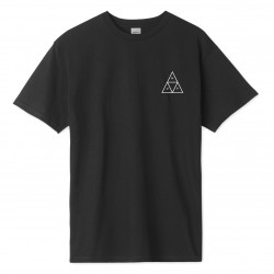 HUF, T-shirt mirage tt ss, Black