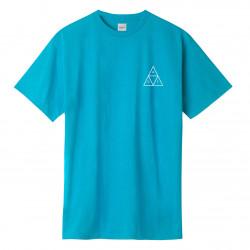 HUF, T-shirt mirage tt ss, Turquoise