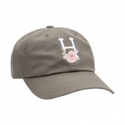 HUF, Cap central park cv 6 panel, Dusty olive