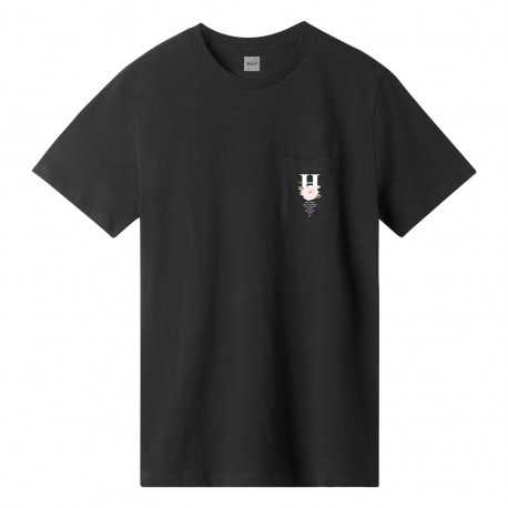 T-shirt central park ss pocket - Black