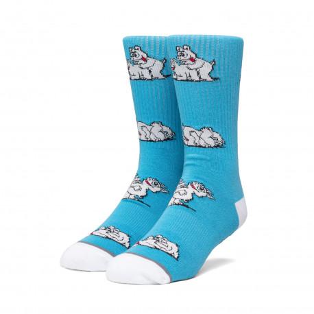 Socks makin bacon - Greek blu