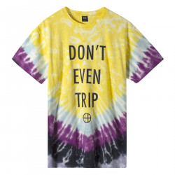 HUF, T-shirt don't even trip ss, Yellow