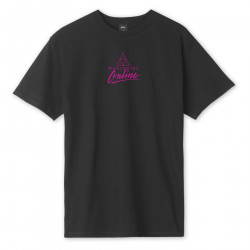 HUF, T-shirt forbidden domain ss, Black