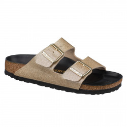 BIRKENSTOCK, Arizona bf, Glitter gold hex black