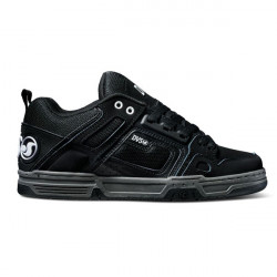 DVS, Comanche, Black black leather nubuck