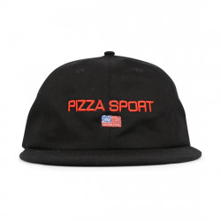 PIZZA, Cap sport, Black