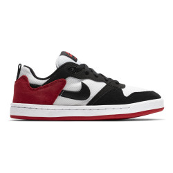 NIKE, Nike sb alleyoop (gs), White/black-university red-white