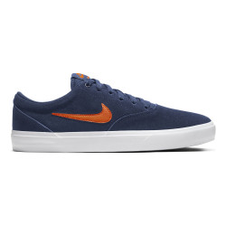 NIKE, Nike sb charge suede, Mystic navy/starfish-mystic navy-white