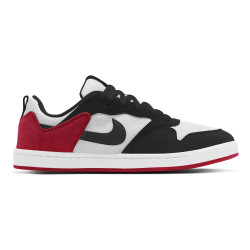 NIKE, Nike sb alleyoop, White/black-university red-white