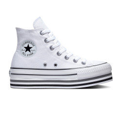 CONVERSE, Chuck taylor all star eva lift hi, White/black/thunder