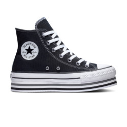 CONVERSE, Chuck taylor all star eva lift hi, Black/white/thunder