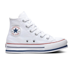 CONVERSE, Chuck taylor all star eva lift hi, White/midnght navy/garnet