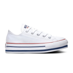 CONVERSE, Chuck taylor all star eva lift ox, White/midnight navy/garnet