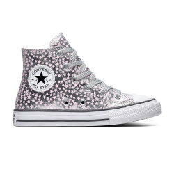 CONVERSE, Chuck taylor all star hi, Silver/pink glaze/white
