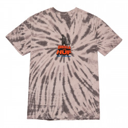 HUF, T-shirt vs godzilla ss, Grey