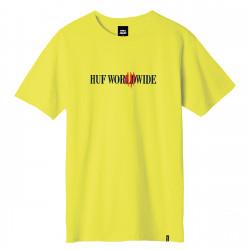 HUF, T-shirt godzilla classic h ss, Yellow