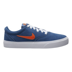 NIKE, Nike sb charge suede (gs), Mystic navy/starfish-mystic navy-white