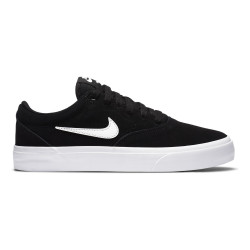 NIKE, Nike sb charge suede (gs), Black/photon dust-black-black