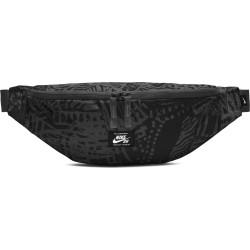 NIKE, Nk sb heritage hip pack - aop, Black/black/white
