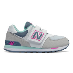 NEW BALANCE, Yv574 m, Grey/white/blue
