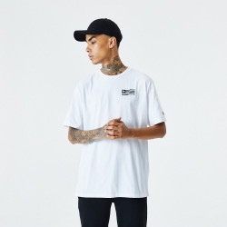 NEW ERA, Ne cont graphic print ss tee, Whi