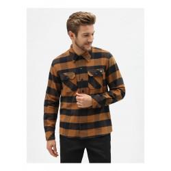DICKIES, Sacramento shirt, Brown duck