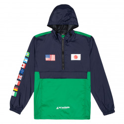 HUF, Jacket flags anorak, French navy