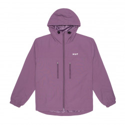 HUF, Jacket essentials zip standard shell, Vintage violet