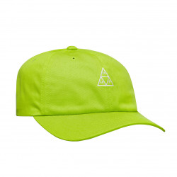 HUF, Cap essentials tt logo cv 6 panel bio, Lime