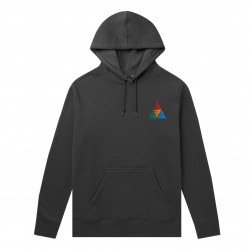 HUF, Sweat peak sportif hood, Black