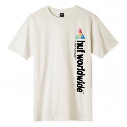 HUF, T-shirt peak sportif ss, Unbleached