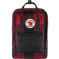 FJALL RAVEN, Kanken re-wool laptop 15, Red-black