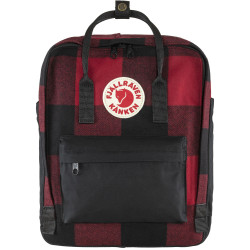 FJALL RAVEN, Kanken re-wool, Red-black